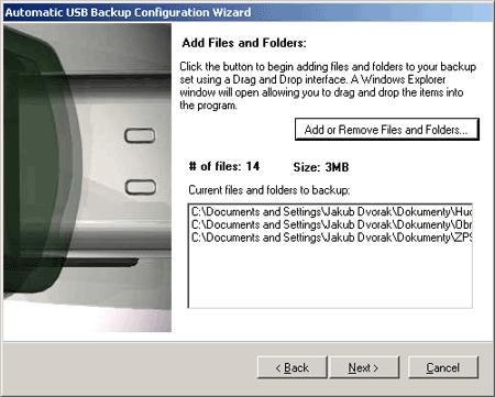 Automatic USB Backup