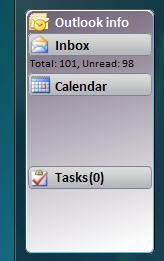 Miniaplikace ve Windows Vista