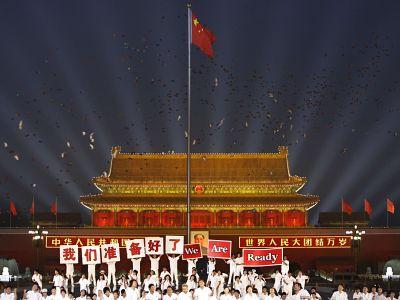 Oslavy v Pekingu: do olympiády zbývá přesně jeden rok
