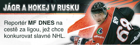 Jágr a hokej v Rusku: Reportér MF DNES na cestě za ligou, jež chce konkurovat slavné NHL