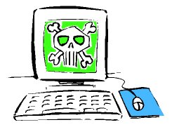 V počítači se usadil virus