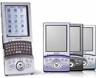 PDA Sharp Zaurus SL-5500 s operačním systémem Linux