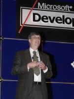 Bill Gates - diskutující