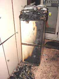 Požár v serverovně Českého rozhlasu (18.4.2002)
