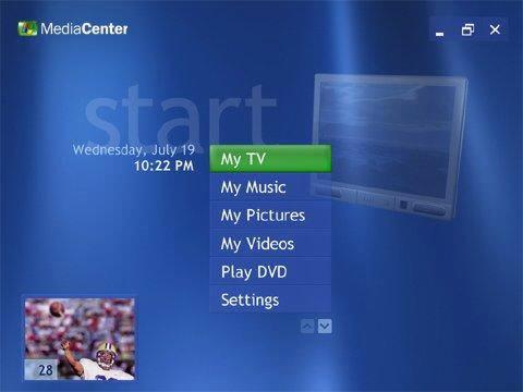 Nový operační systém Microsoftu ponese označení Media Center Edition