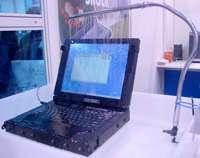 Notebook s dotykovým displejem fungující i pod vodou