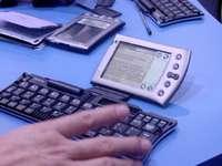 Skládací klávesnice k PDA