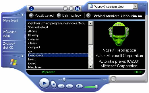 Media Player - skinování