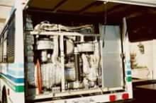 Autobus poháněný palivovými články