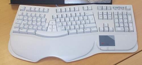 Ergonomická klávesnice