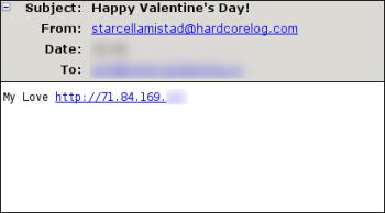 Nebezpečné Valentýnské přání