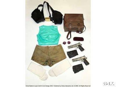 eBay - dražený obleček Lary Croft
