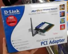 PCI adaptér AirPro