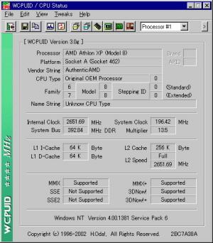 Athlon XP 2200@2650