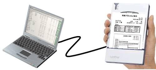 MW-100 - tiskárna do dlaně