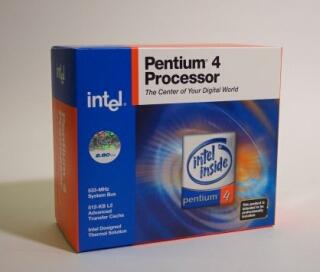 Originální balení CPU Intel