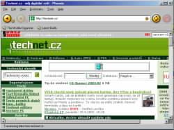 Phoenix - nejrychlejší browser na světě