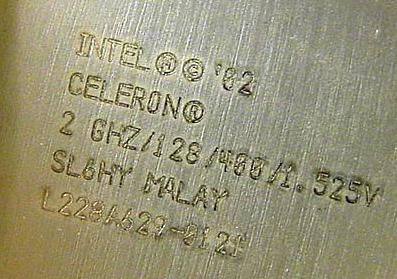 Celeron 2.0 GHz
