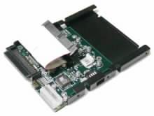 Redukce od společnosti Acard mezi SCSI a IDE rozhraním