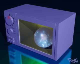CD v mikrovlnce