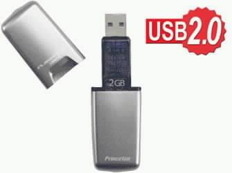 2 GB klíčenka podporující USB 2.0