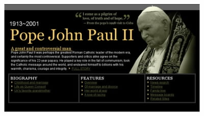 Papežův nekrolog