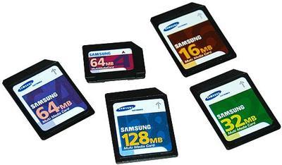 Karty MMC od společnosti Samsung