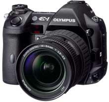 Digitální zrcadlovka Olympus E-1