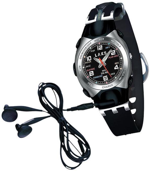 MP3 hodinky LAKS