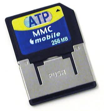 Paměová flash karta MMCmobile