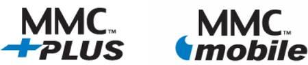 Logo paměové flash karty MMCplus