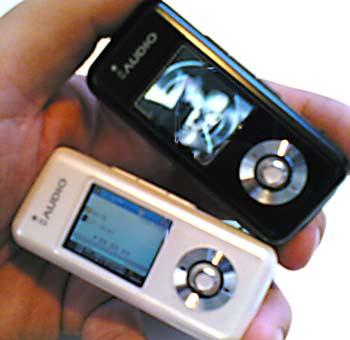 Přehrávač iAudio U3