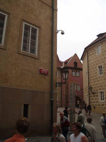 Kamera na Pražském hradě