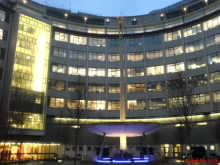 Londýnská budova BBC