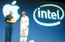 Apple a Intel v jednom balení