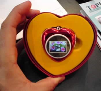 Srdíčko s LCD