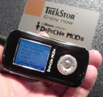 Přehrávač TrekStor iBeat v edici DM