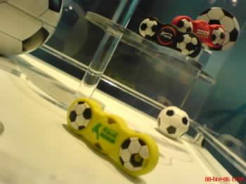 USB flash slaví fotbal