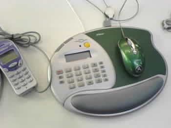 Podložka s podporou VoIP