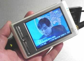 LG PDA s příjmem pozemní DMB