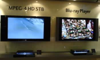 LG umí DVB-T s MPEG 4