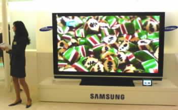 """Samsung 102"""" plazma"""