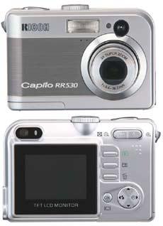 Digitální fotoaparát Ricoh Caplio RR530