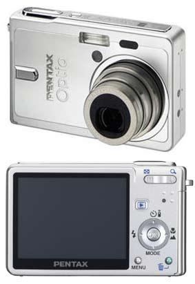 Digitální fotoaparát Pentax Optio S6