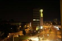 Snímky z digitálního fotoaparátu Konica Minolta Dynax 5D – noční snímek