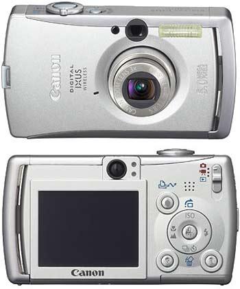 digitální fotoaparát Canon Digital Ixus Wireless