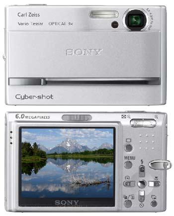 digitální fotoaparát Sony Cyber-shot DSC-T9