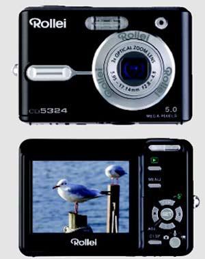 digitální fotoaparát Rollei da5324