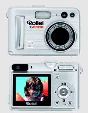 digitální fotoaparát Rollei dp6500