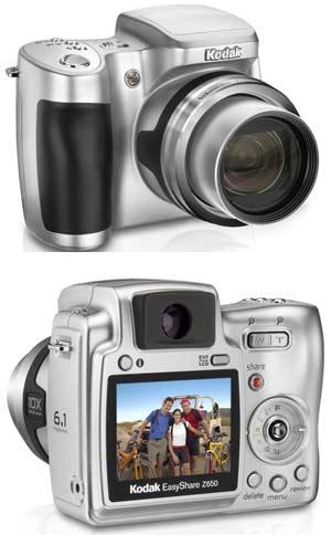 Digitální fotoaparát Kodak EasyShare Z650